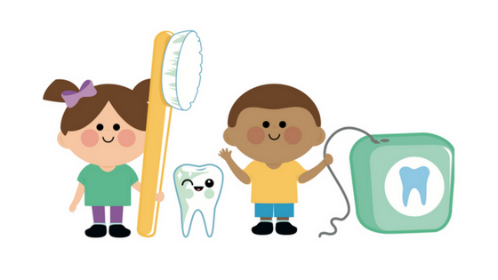Teaching children good oral hygiene