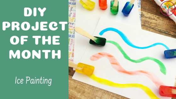 Ice Painting - DIY Craft Activity For Kids