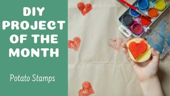 DIY Activity of the Month - Potato Stamps