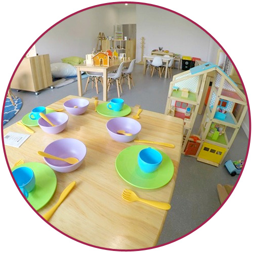 Pre-Kindy Childcare Room